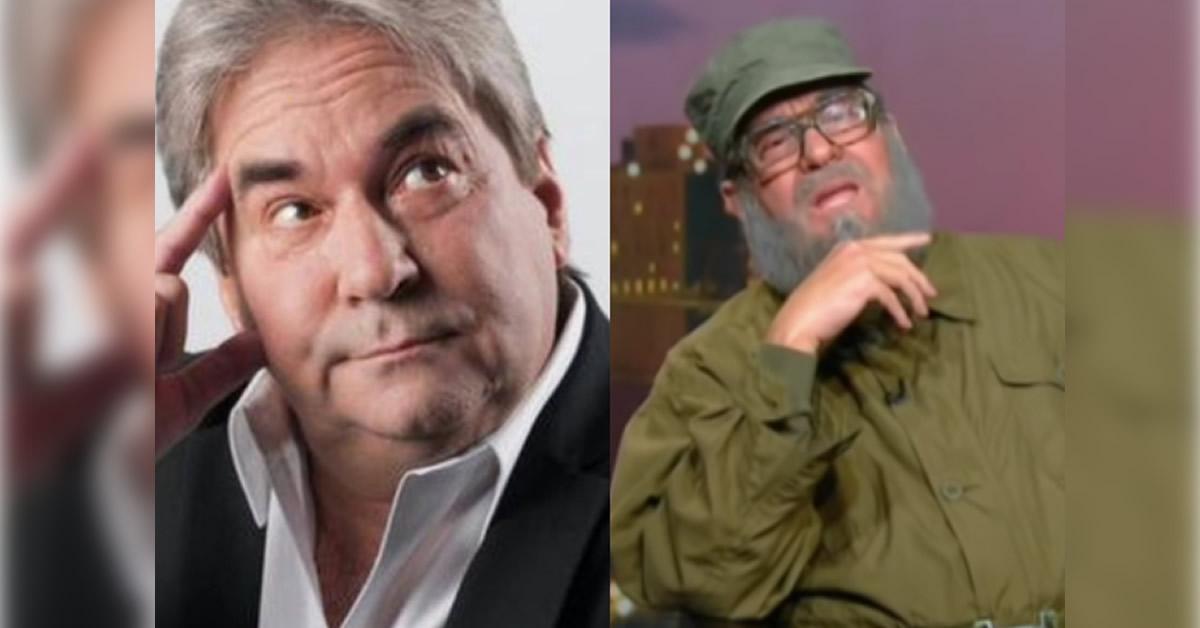 Muere en Miami el imitador de Fidel Castro, el actor Eddy Calderón
