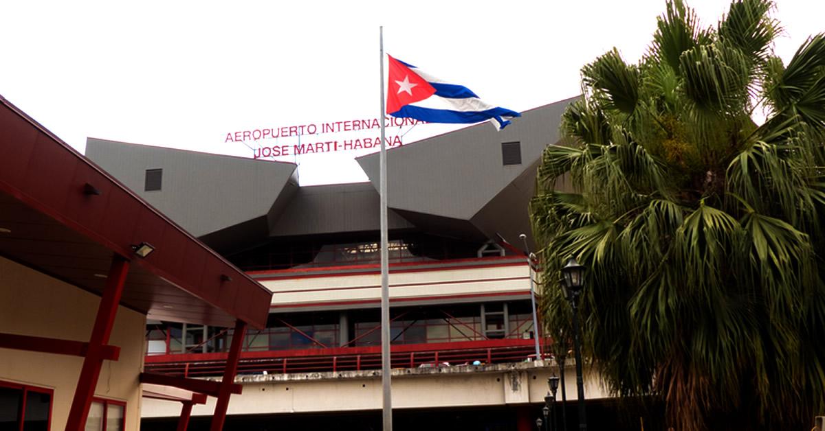 Gobierno cubano rechaza desde el 1 de enero los vuelos procedentes de Estados Unidos y otros cinco países para frenar la pandemia